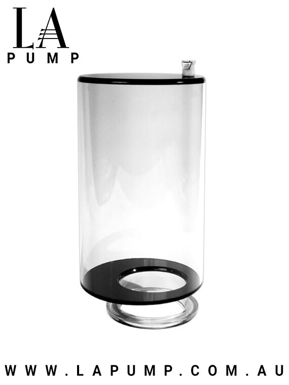 LA Pump Two Stage Pump Penis And Balls Enlarger